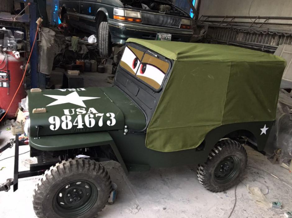 Sargento es un Willys MB.38 de 1941. (Foto: Pepe Cohen/Facebook)