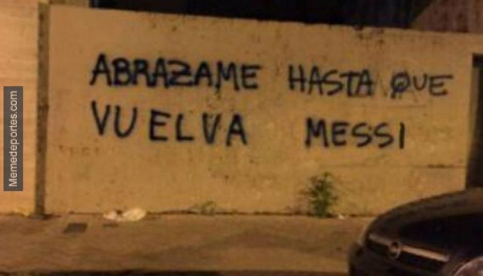 Argentina extraña a Messi, y mucho. (Memedeportes.com)