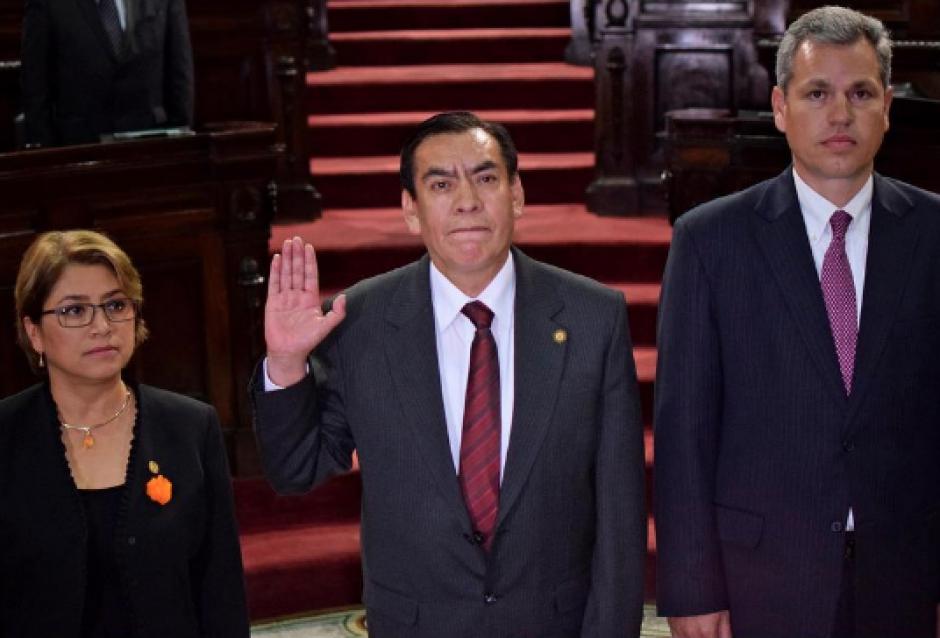 Rojas recibió la Presidencia de la CSJ de Felipe Baquiax en octubre de 2015. (Foto: Archivo/Soy502)