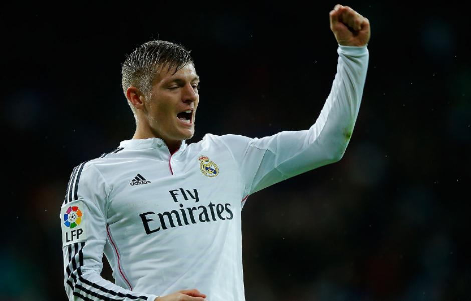 Toni Kroos celebra un gol con el Real Madrid. (Foto: Marca.es)