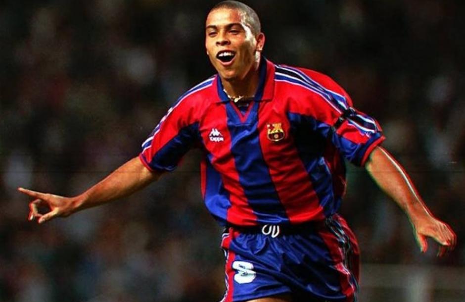 Ronaldo, en su único año con el FC Barcelona. (Foto: Sport.es)