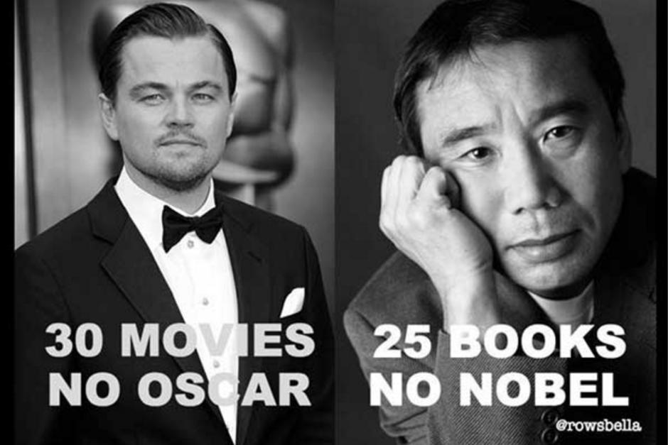Los memes recuerdan a Leonardo DiCaprio con este Premio Nobel. (Foto: zocalo.com.mx)
