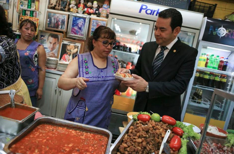 El mandatario volvió al lugar donde también hizo campaña en 2015. (Foto: AGN)