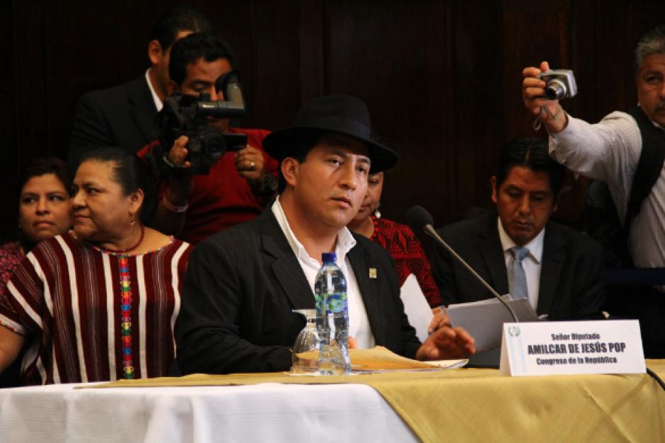 Pop representa al partido Winaq en el Legislativo. (Foto: Archivo/Soy502)