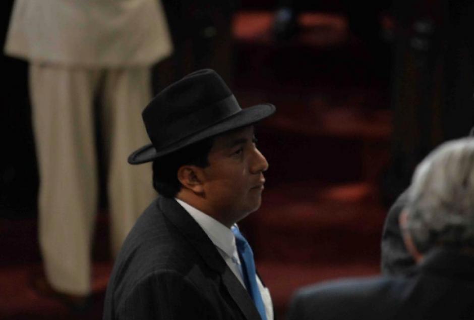 El Ministerio Público ratificó la solicitud de antejuicio contra el diputado Amílcar Pop. (Foto: Archivo/Soy502)