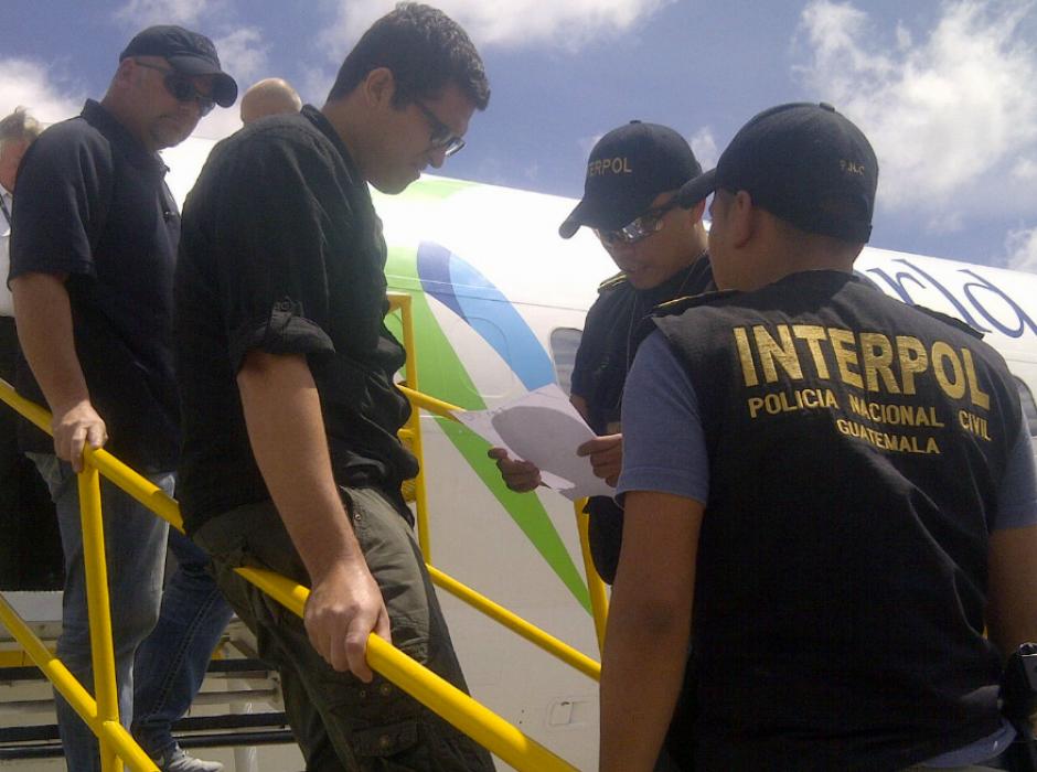 Jayron Manuel Valle Barrera de 25 años de edad fue detenido. (Foto: PNC)