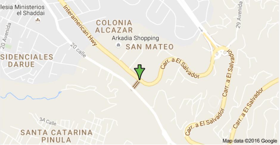 Esta es la 27 avenida que se pretende cerrar durante una semana para reducir el tránsito vehicular. (Foto: Google Maps)