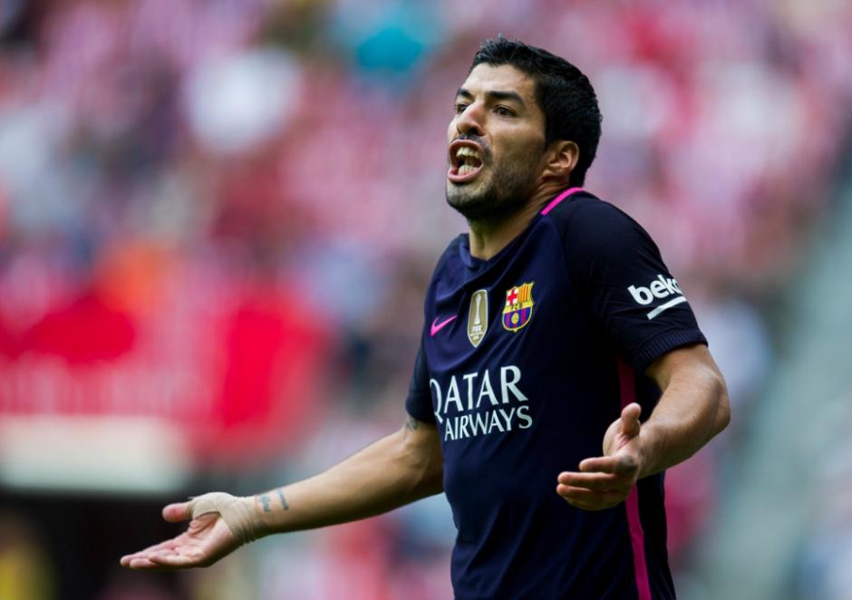 Luis Suárez fue el protagonista de otra polémica. (Foto: AFP)