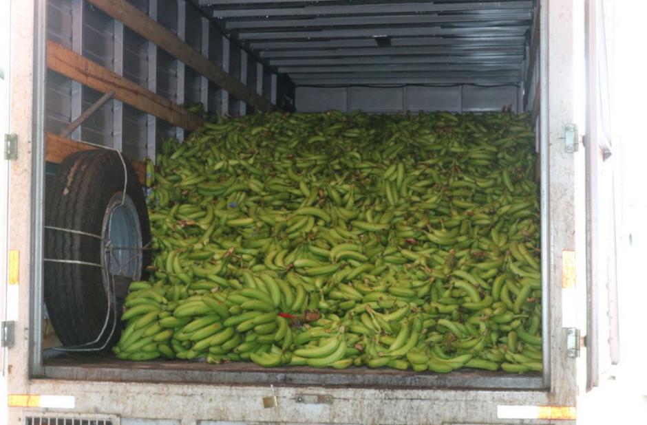 La Sosep donó a la Gobernación 400 quintales de banano. (Foto: Twitter/AGN)