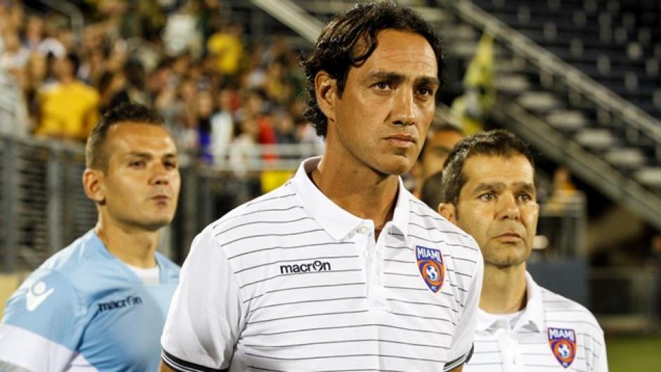 Alessandro Nesta, técnico del Miami FC. (Foto: Miami FC)