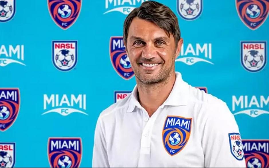 Paolo Maldini, codueño del Miami FC. (Foto: Miami FC)