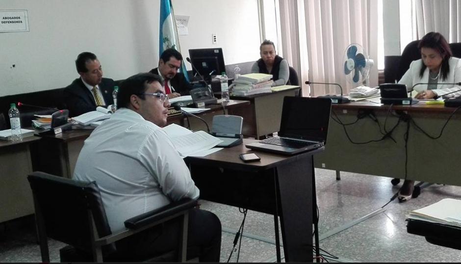 Un politólogo fue contratado por la defensa de Vernon González para hacer un peritaje del audio de la reunión que fue sostenida con la exmagistrada. (Foto: Marcia Zavala/Soy502)