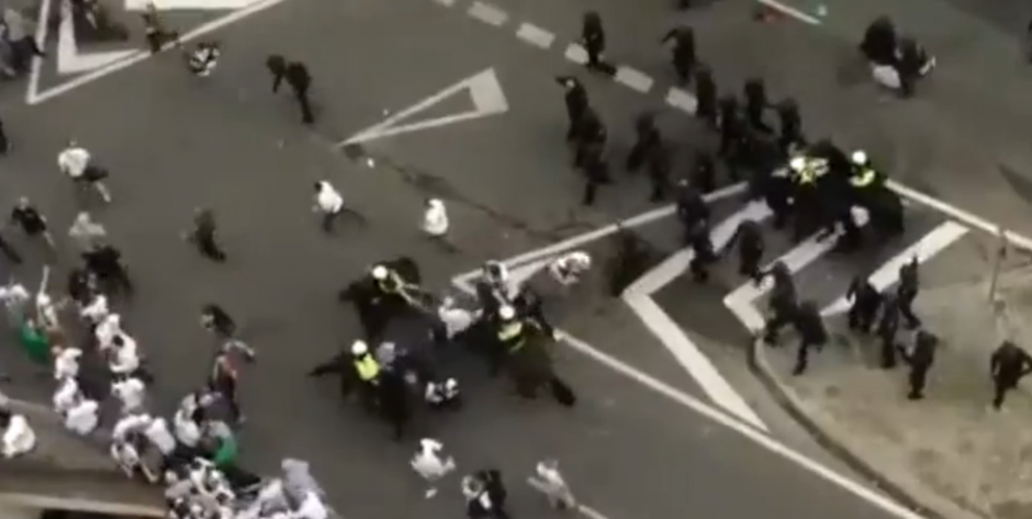 Se reportan 5 heridos, por ahora. (Imagen: captura de pantalla)