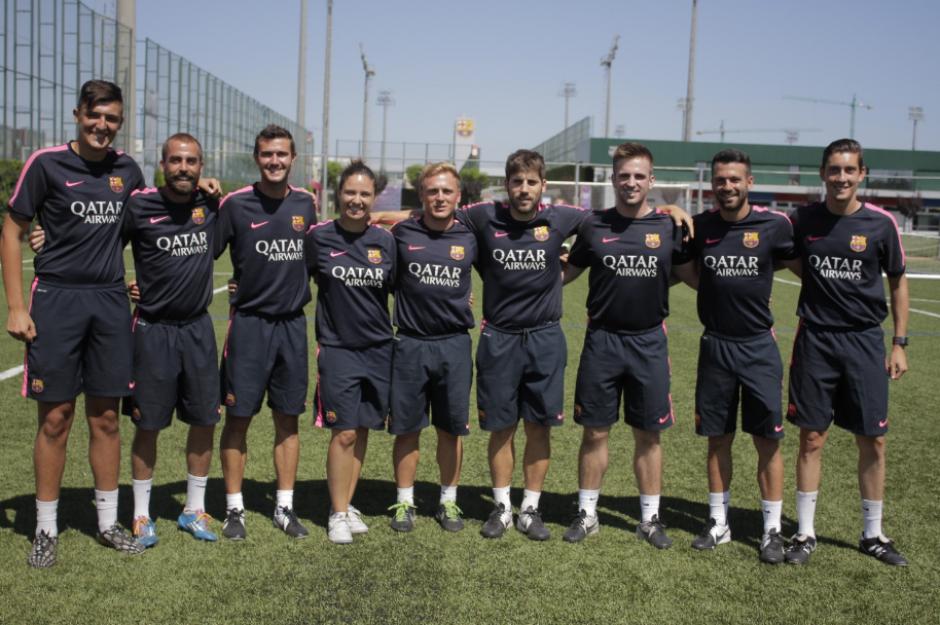 Los entrenadores son formados en el corazón del FCB. (Foto: FCBEscola)