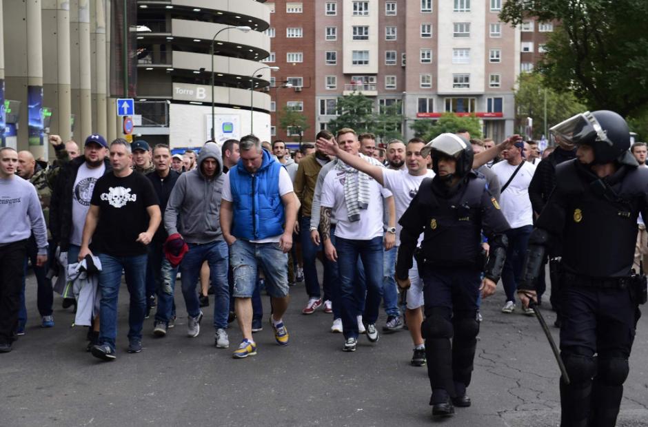 La UEFA había advertido sobre los peligros de los ultras. (Foto: AS.com)