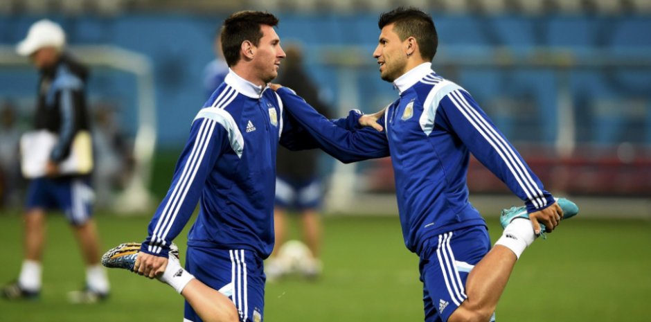 Leo y Sergio son buenos amigos desde hace mucho. (Foto: Olé)