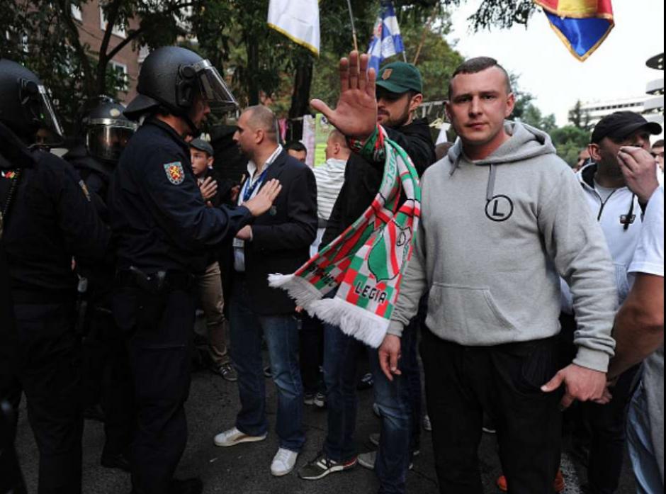 El líder de los radicales está bajo custodia. (Foto: Twitter)