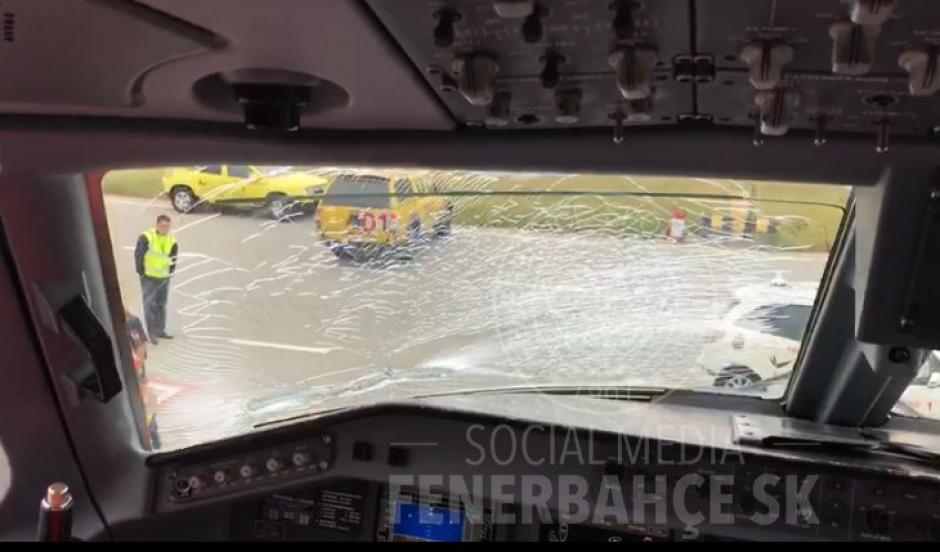 Los pilotos decidieron aterrizar en Budapest. (Foto: Twitter/Fenerbahce)
