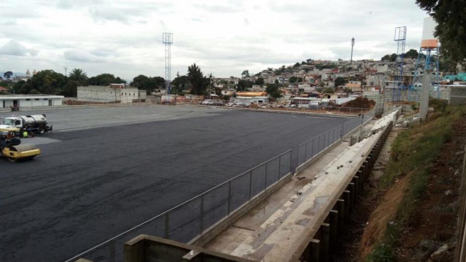 La obra está valorada en 26 millones de quetzales. (Foto: Neto Bran/Facebook)