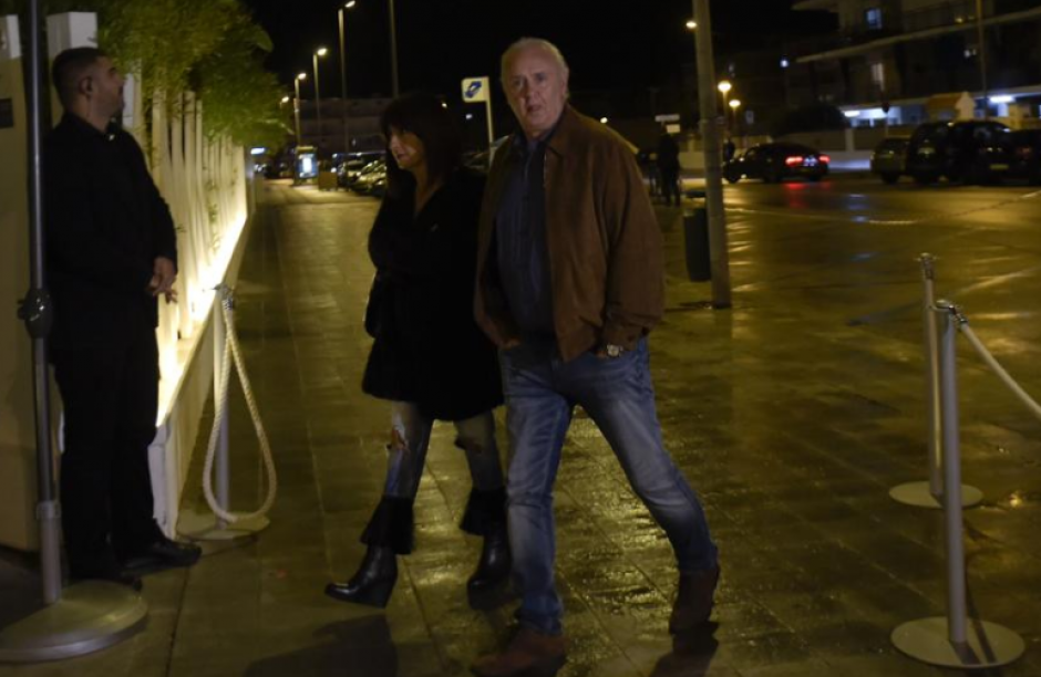 La plantilla cenó para celebrar la Bota de Oro de Suárez.  (Foto: Manel Montilla/Mundo Deportivo)