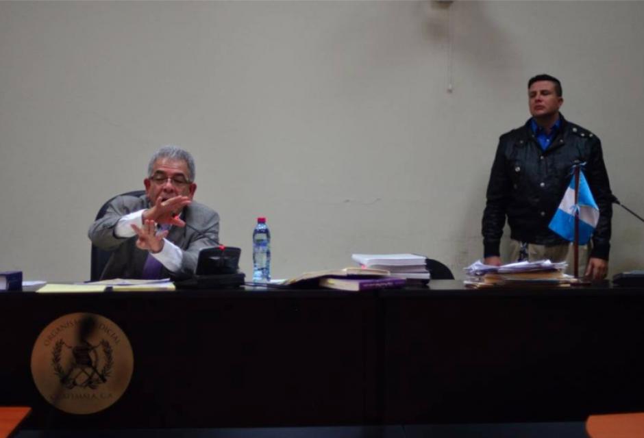 El juez Miguel Ángel Gálvez rechazó modificar las medidas de coerción de 18 implicados en La Línea. (Foto: Jesús Alfonso/Soy502)