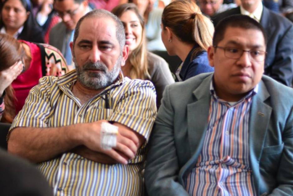 Osama Aziz Aranki será evaluado por el Inacif debido a supuestos padecimientos de salud. (Foto: Jesús Alfonso/Soy502)
