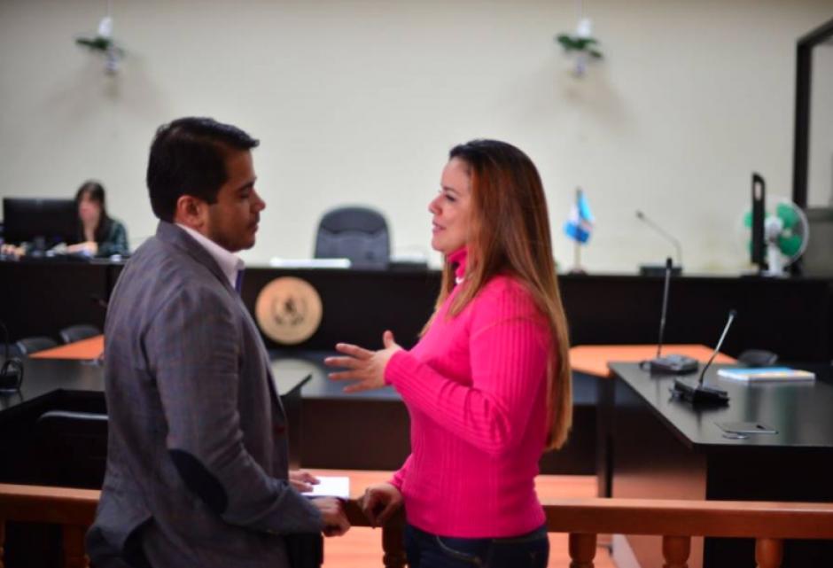 Entre los sindicados que buscaban salir de prisión está la exintendente de aduanas, Claudia Méndez. (Foto: Jesús Alfonso/Soy502)