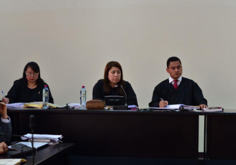 El juicio está a cargo del Tribunal Noveno que fue integrado por un suplente debido a padecimientos de salud de su Presidenta. (Foto: Jesús Alfonso/Soy502)