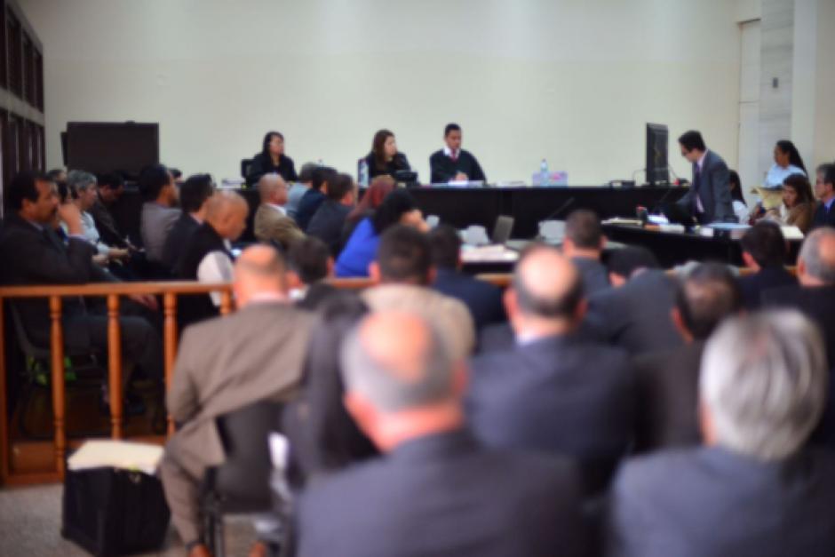 La Fiscalía solicitó que se aplazara la audiencia para adherir el expediente del exdirector del IGSS en Chiquimula. (Foto: Jesús Alfonso/Soy502)