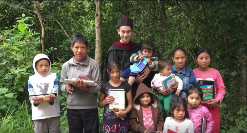 Al final espera dejar un mensaje positivo en todos los guatemaltecos. (Imagen: captura de pantalla)