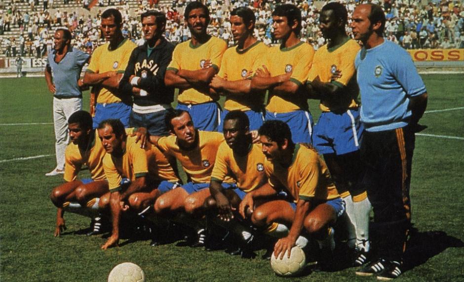 La mítica selección de Brasil 1970. (Foto: FIFA.com)