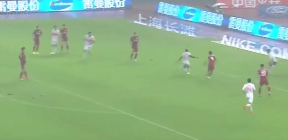 Actualmente, Cissé juega en el Shandong Luneng. (Imagen: captura de pantalla)