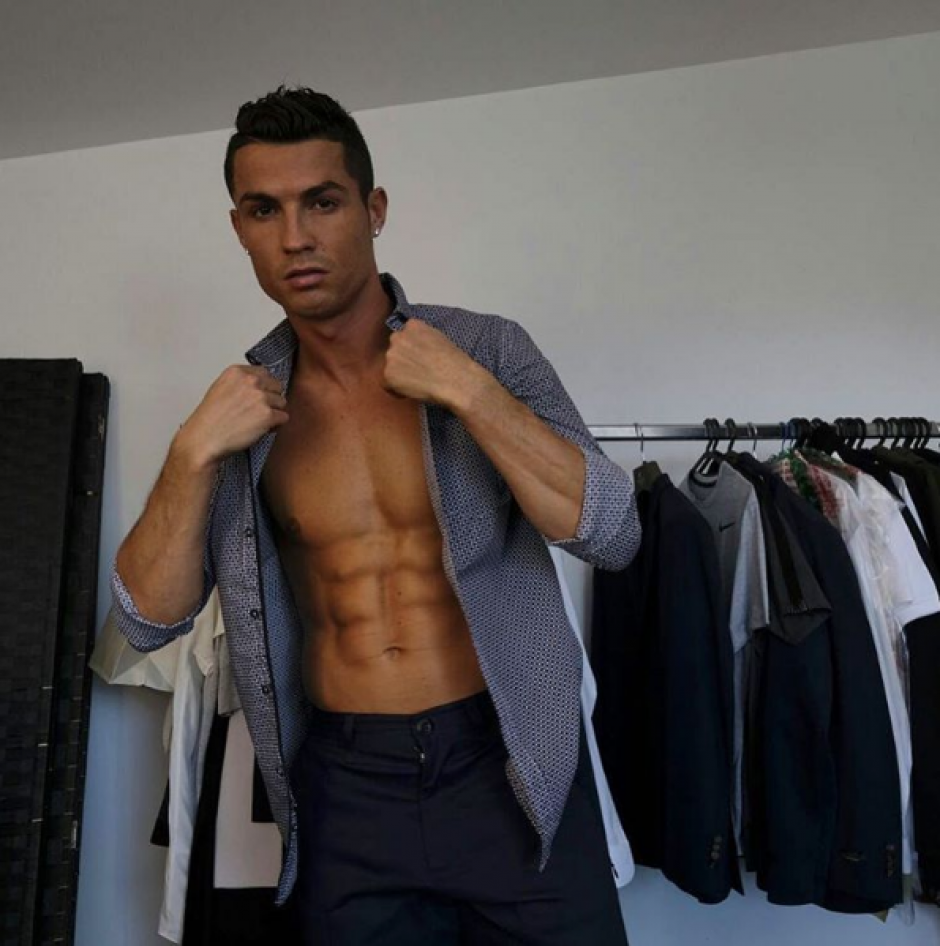 Cristiano Ronaldo sí se cuida, y mucho, lo cual abre la puerta a especular sobre sus posibles excesos. (Foto: Instagram)
