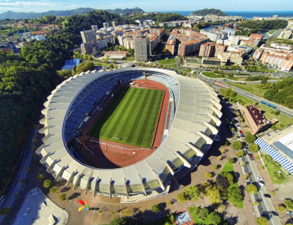 Este es el estadio Anoeta de San Sebastián. (Foto: Wikipedia)