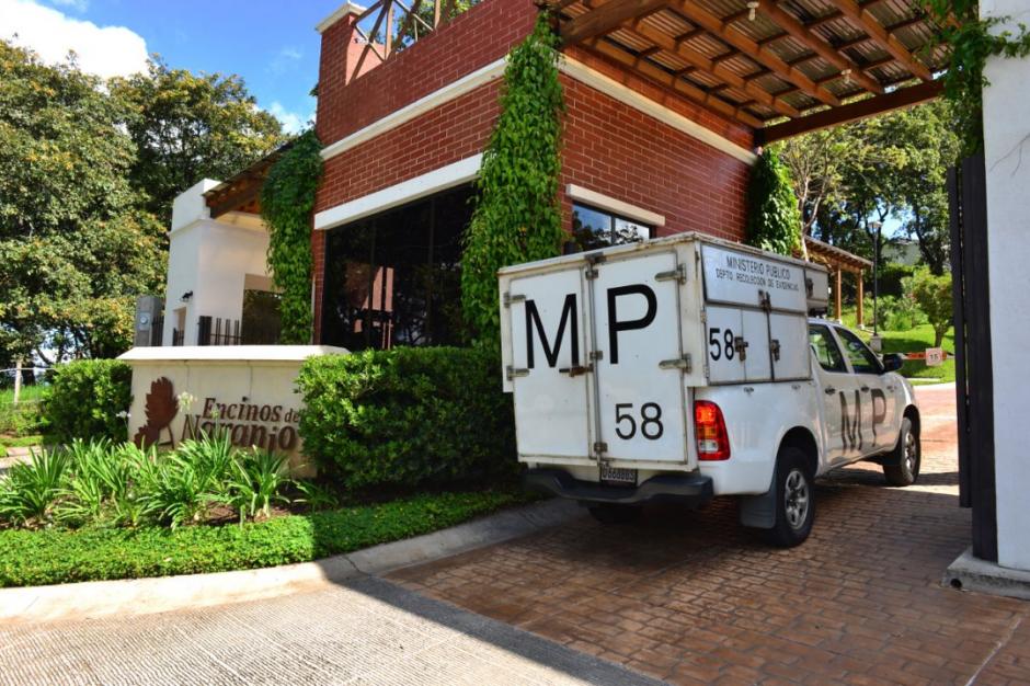 El operativo del MP fue en la zona 4 de Mixco. (Foto: Jesús Alfonso/Soy502)