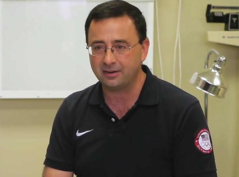 Larry Nassar, el médico que tiene hasta 18 denuncias. (Foto: People)