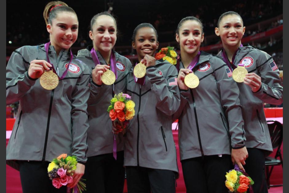 """""""The Fierce Five"""", el equipo que conquistó Londres. (Foto: USA Gymnastics)"""