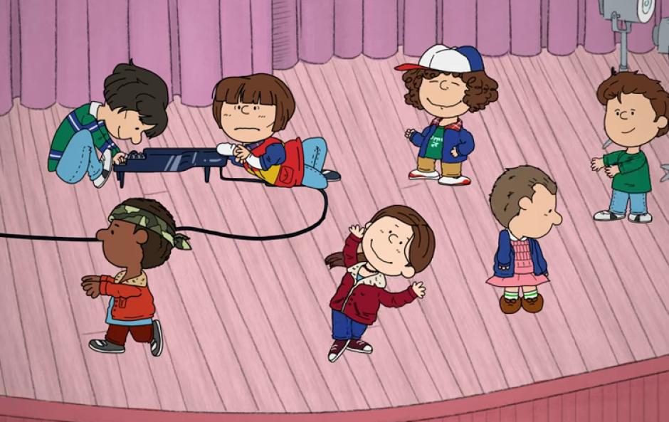 La versión de Stranger Things al estilo de Snoopy y Charlie Brown ha asombrado a muchos