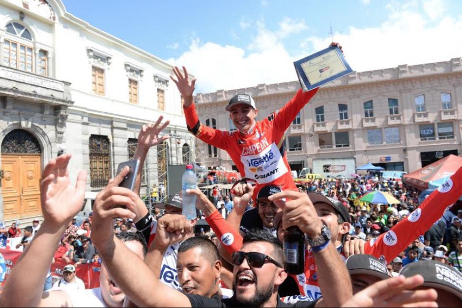 Román Villalobos ganó la vuelta el año pasado. (Foto: Soy502)