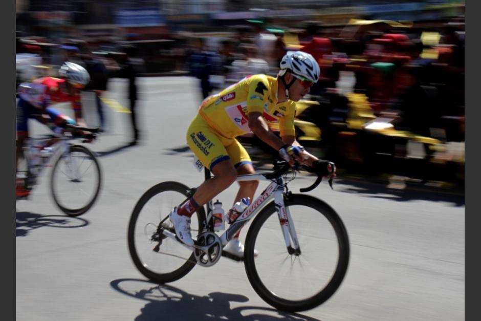 Rodas quedó a un minuto y 34 segundos del tico Villalobos. (Foto: CDAG)