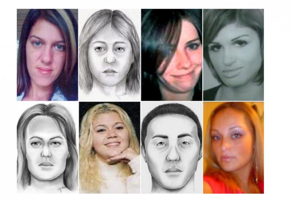 La policía de Long Island, Nueva York, buscan al asesino de al menos 15 mujeres. (Foto:  Policía del Condado de Suffolk)
