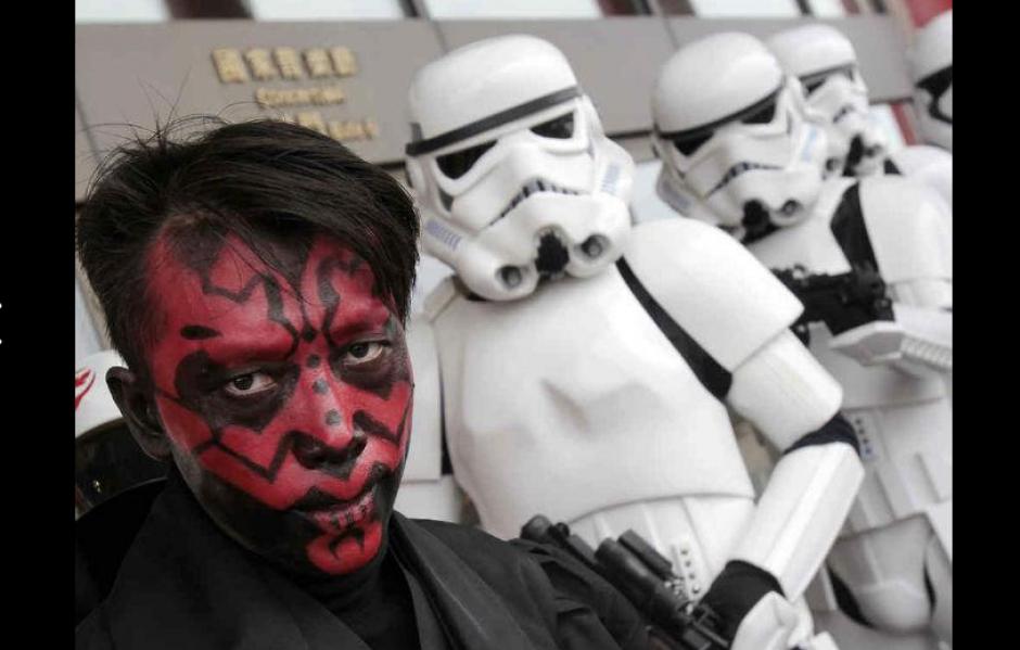 Los trajes de Star Wars dominan las ventas. (Foto: Pinterest.com)