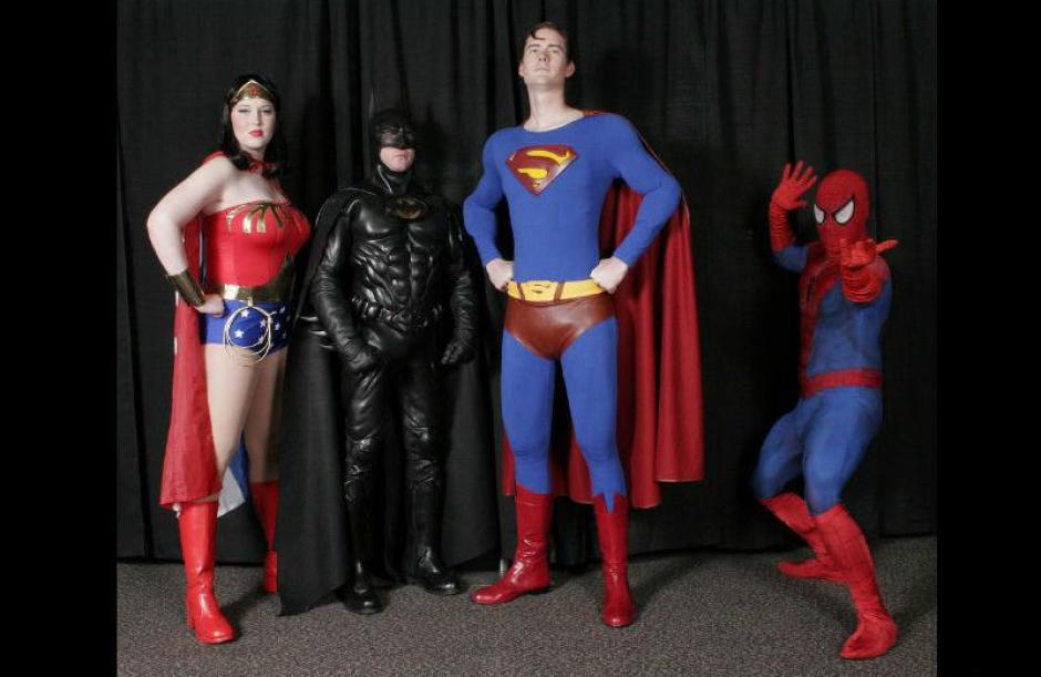 Los Superhéroes también son cotizados. (Foto: Pinterest.com)