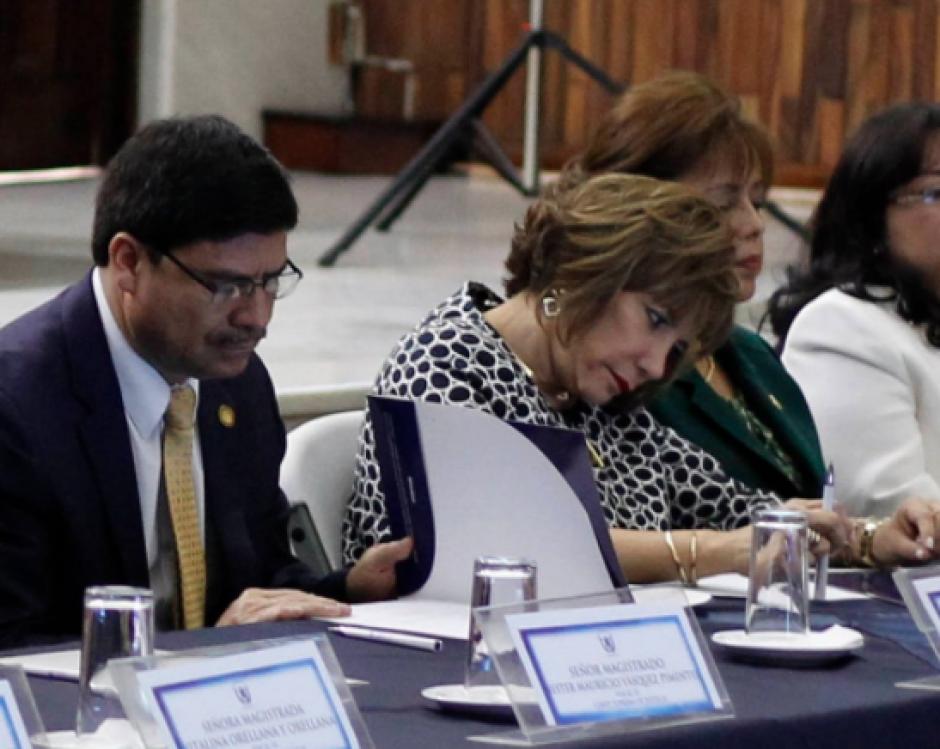 El antejuicio contra el mandatario Jimmy Morales, no fue conocido por la magistrada presidenta del OJ, Silvia Valdés, por una excusa que ella planteó por su afinidad hacia él. Foto: Archivo/Soy502)