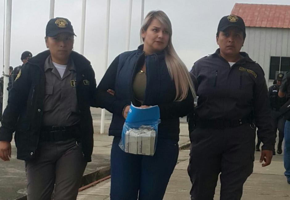 Cardona es acusada del trasiego de droga. (Foto: Sistema Penitenciario)