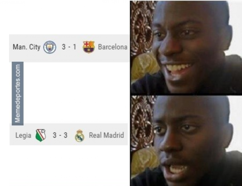 Primero fue el Barça... después el Madrid. (MemeDeportes)