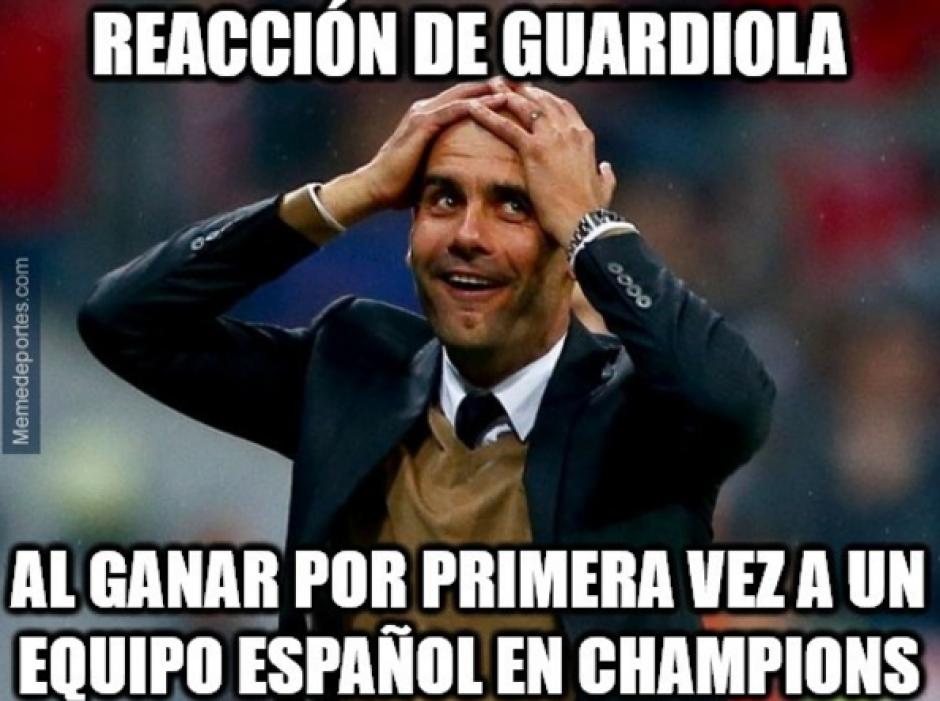 Guardiola venció al Barça después de dos goleadas. (MemeDeportes)