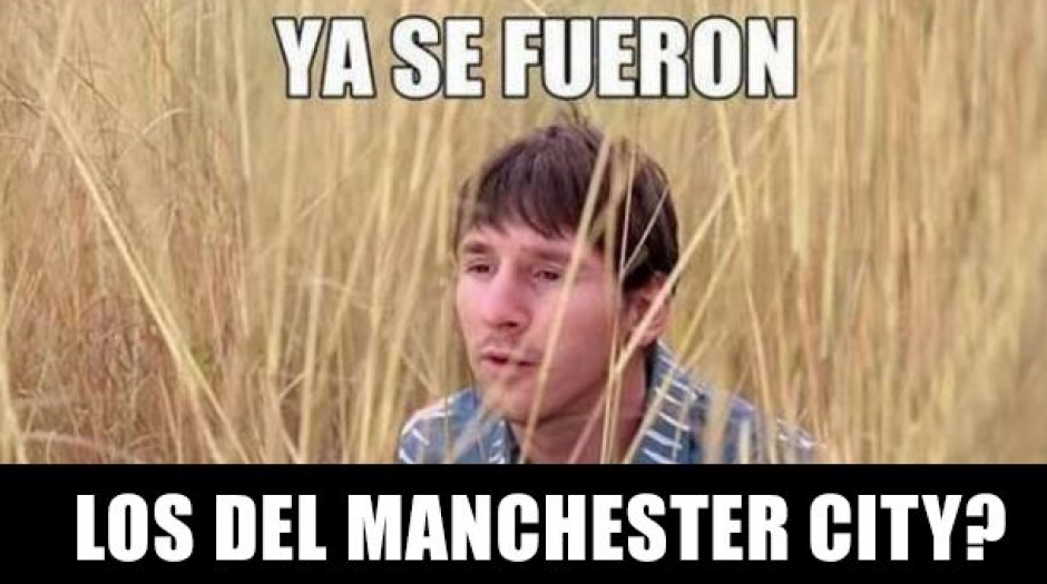 Leo Messi no tuvo una buena tarde. (MemeDeportes)