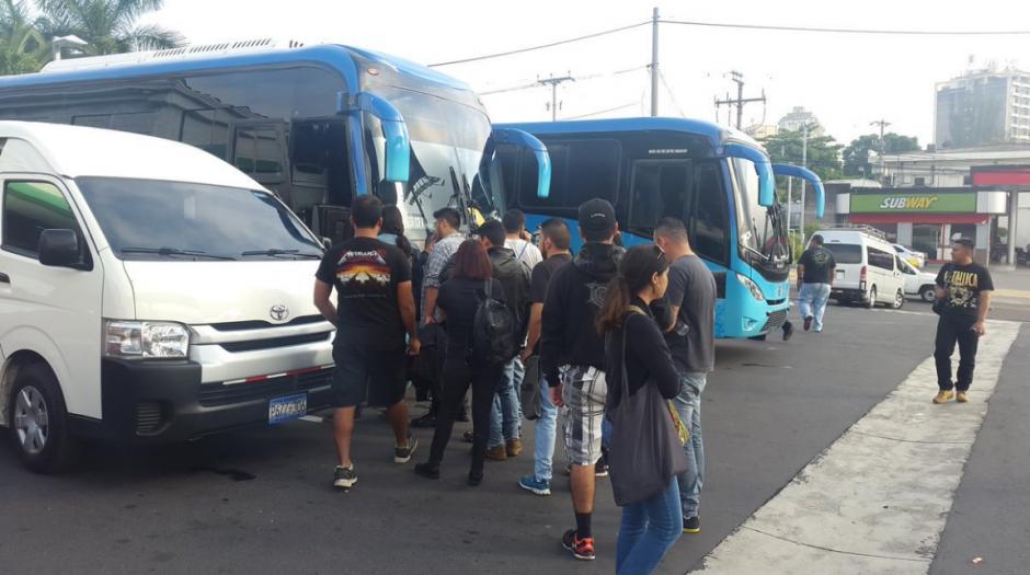 Metallica atrae a fans de varios países vecinos. (Foto: El Salvador.com)