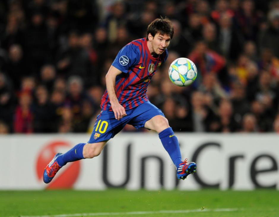 Leo Messi le metió cinco al Leverkusen en 2011-2012. (Foto: AFP)